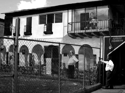 Wandmalerei in Villa Tapia