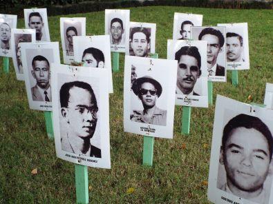 Gesichter der Widerstandsbewegung gegen Trujillo
