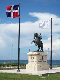 Reiterdenkmal von Luperón, dem 20. Präsidenten der DomRep