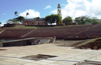 Bau eines neuen Amphitheaters