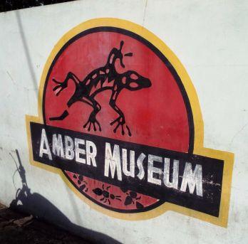 Jurassic-Park-Touch des Bernsteinmuseums