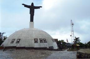 Christusstatue, die an die in Rio de Janeiro erinnert