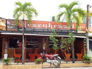 Auch hier gibt's ein deutsches Restaurant...