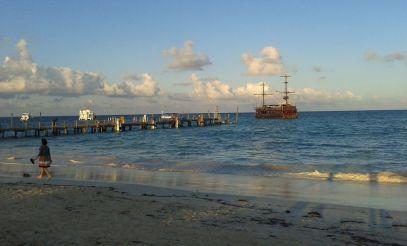 Das Touri-Piratenschiff