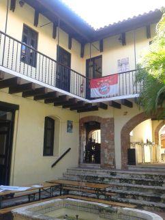 Innenhof des Deutsch-Dominikanischen Zentrums