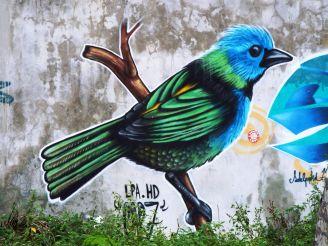 Auch hier gibt's Murales (Wandmalereien)! :-)