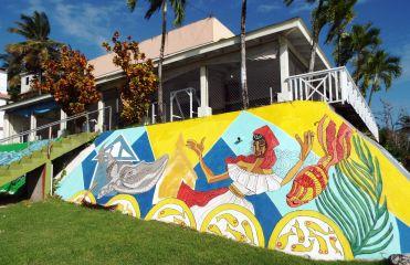 Murales (Wandmalereien)!