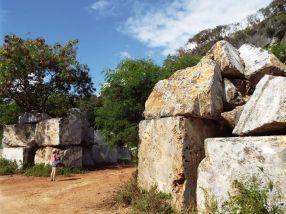 Eingang zum Steinbruch