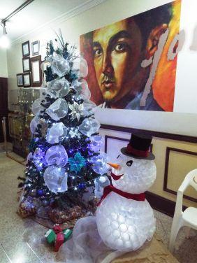 Recyclete Weihnachtsdeko