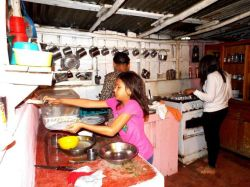 ... und in der modernen Küche