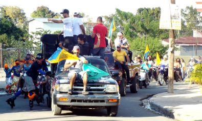 Karnevalsumzug in Jarabacoa