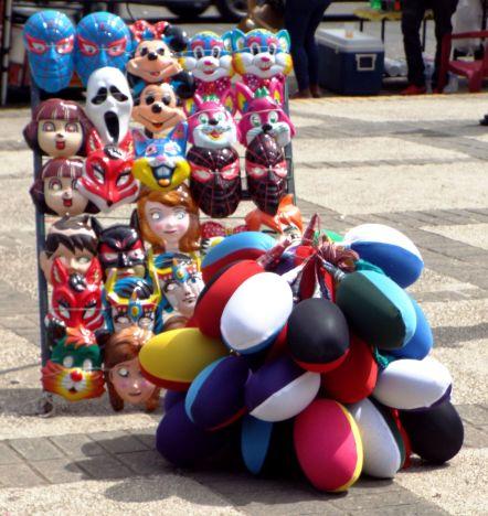 """Masken & vejigas (""""Blasen"""")"""