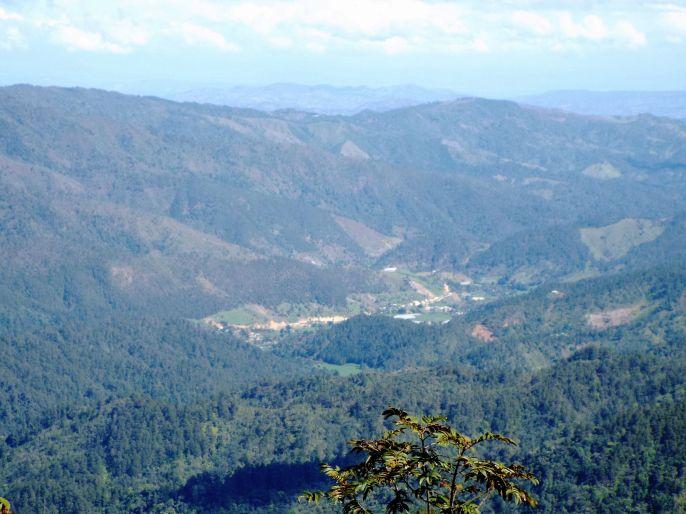 Blick auf La Ciénaga