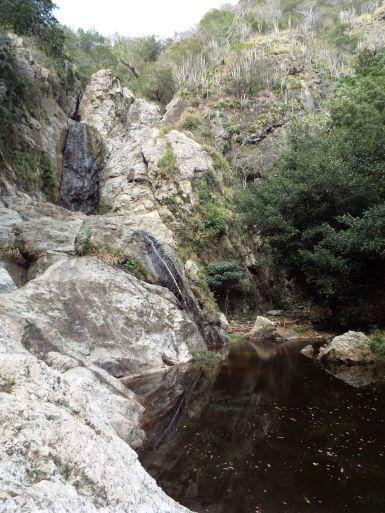Wasserfall Anacaona - bzw. was gerade davon übrig war