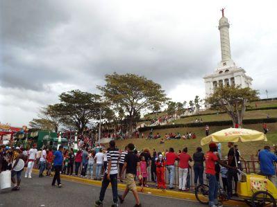 Karneval rund ums Monumento
