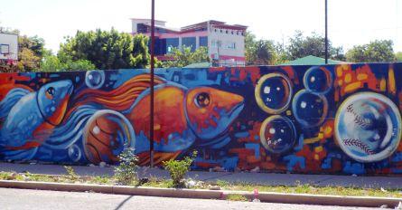 Juhu, auch in Pedernales gibt es Murales!