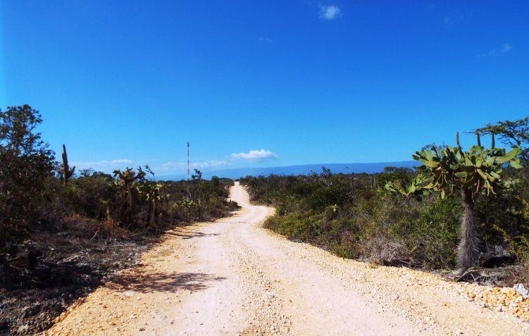 Auf dem Weg zur Bahía de las Águilas