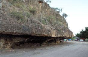 """""""Parkhaus"""" bei La Cueva"""