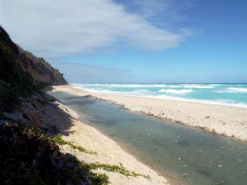 Los Patos - Fluss und Meer treffen aufeinander
