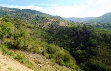 Aufstieg zum Pico Diego de Ocampo