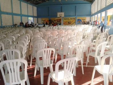 """Wahlkampfveranstaltung in der """"Don Bosco""""-Schule in meinem Wohngebiet"""