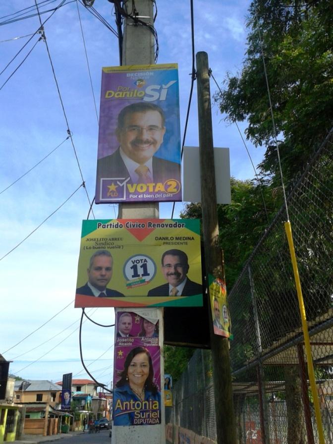 """""""Sichtverschmutzung"""" mit hässlichen Wahlplakaten"""