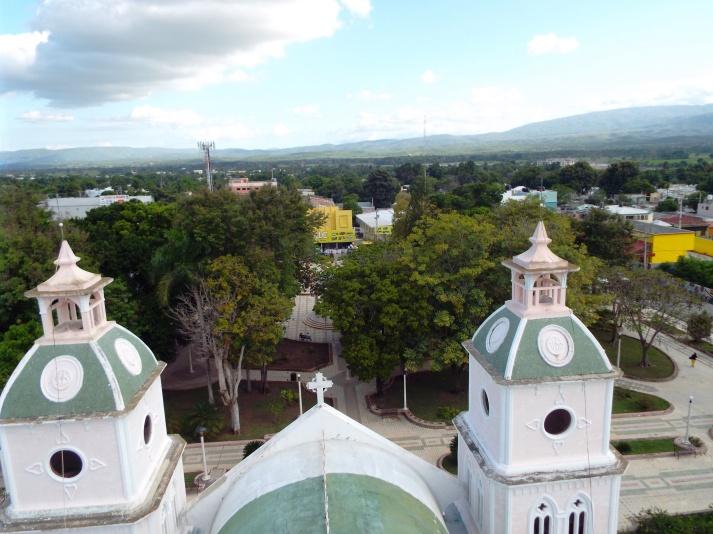 Blick vom Dach der Kathedrale