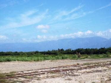 Blick auf die Berge der Sierra de Baoruco