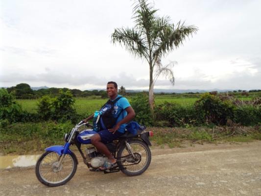 """Mein Motorrad""""taxi"""" Yonattan"""