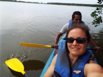 Kayak-Selfie