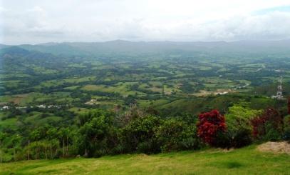 Umgebung der Montaña Redonda
