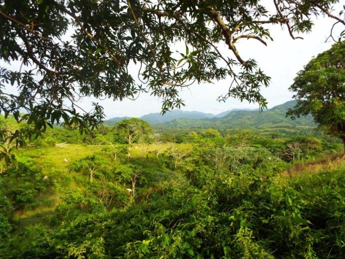 Auf dem Weg durch die Cordillera Oriental nach Miches