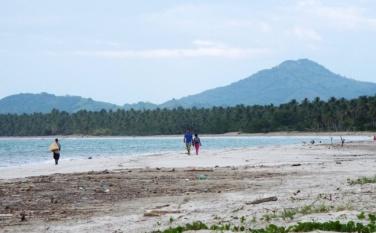 Der Strand von Miches (Playa Miches)