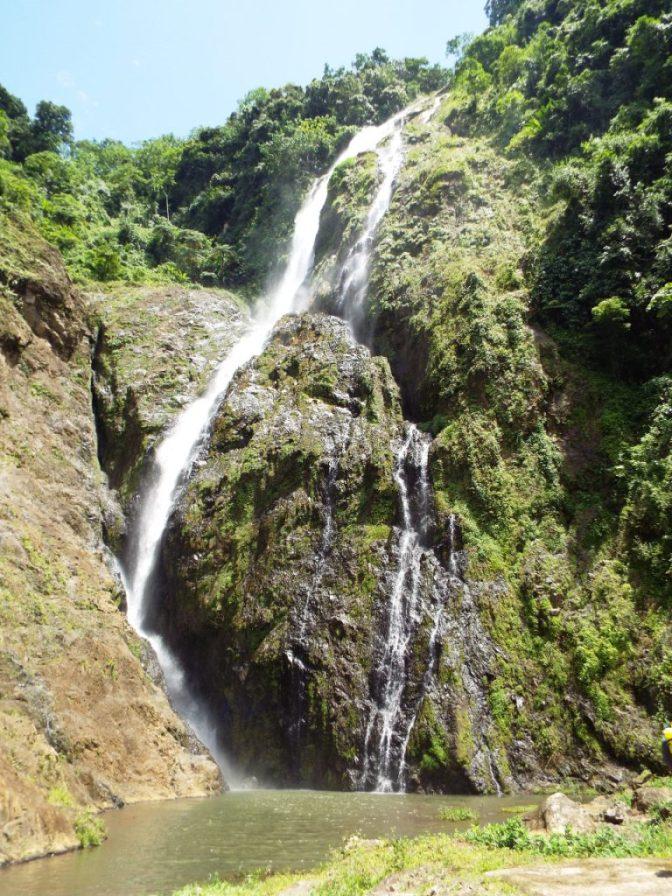 Der höchste Wasserfall der Karibik