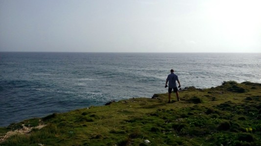 An der Küste von Cabrera
