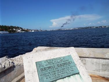 Blick auf die Seifenfabrik Havannas