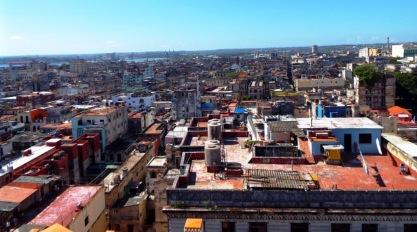 Blick vom Bacardí-Haus auf Havanna