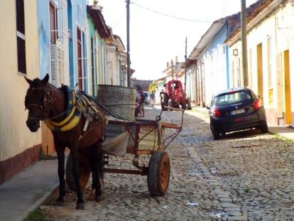 Erste Begegnung mit der Altstadt Trinidads