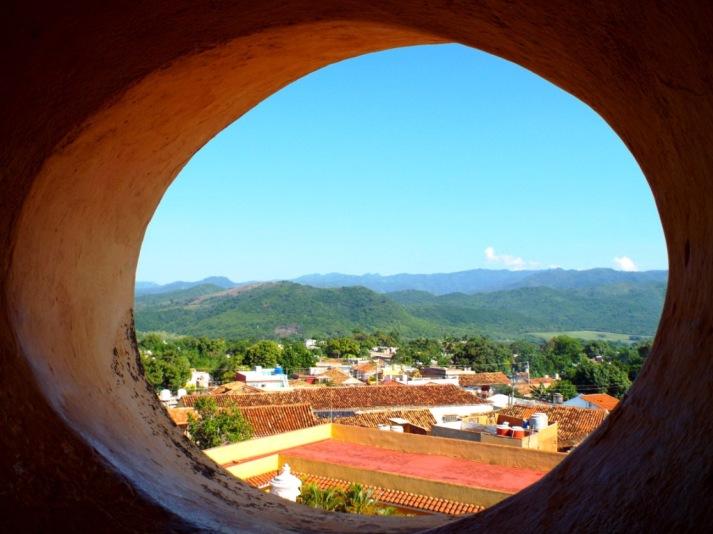 Blick vom Turm des ehemaligen Franziskanerklosters