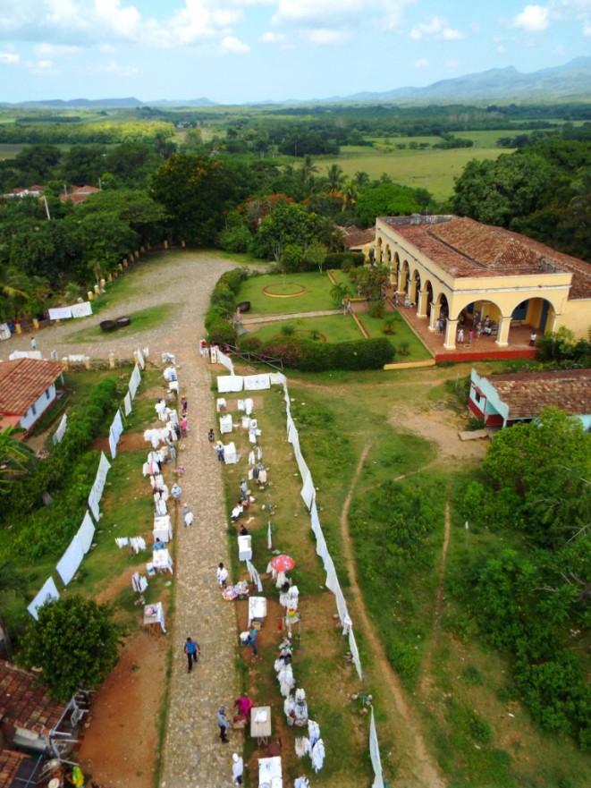 Blick auf das ehemalige Herrenhaus Manaca de Iznaga
