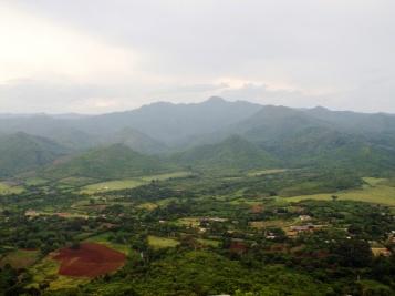 Berge rund ums Valle de los Ingenios