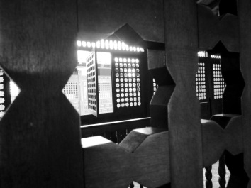 Wie in arabischen Häusern - Fenster im andalusischen Stil