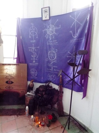 Afrokubanische Altare im Casa del Caribe
