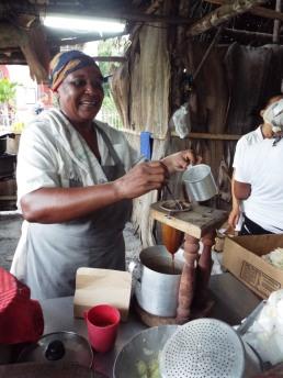 Kaffeekochen auf traditionelle Art