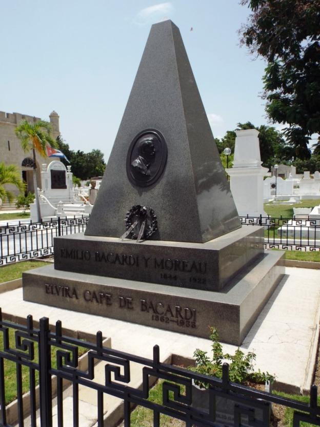 Grab des Bacardí-Gründers