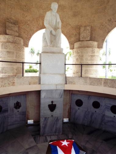 Das Grab des Nationaldichters José Martí