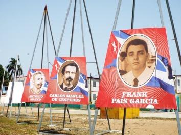 Einige der kubanischen Nationalhelden