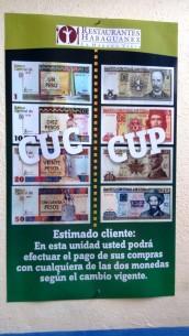 Kuba hat zwei Währungen, was sehr verwirrend sein kann