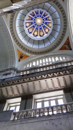 Kuppel im Inneren des Revolutionsmuseums