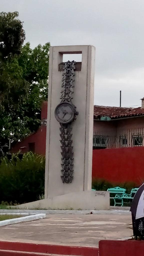 Armbanduhr-Denkmal
